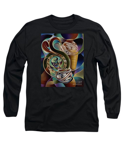 Dynamic Still I Long Sleeve T-Shirt