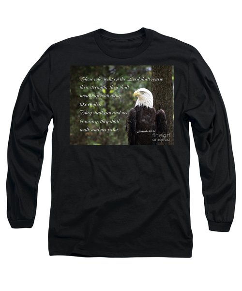 Eagle Scripture Isaiah Long Sleeve T-Shirt