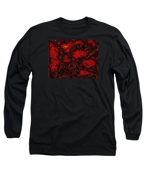 Long Sleeve T-Shirt featuring the digital art Eanadan by Jeff Iverson