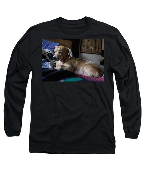 Long Sleeve T-Shirt featuring the photograph Early by Angela J Wright
