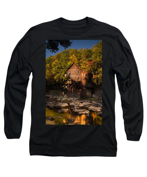 Early Autumn At Glade Creek Grist Mill Long Sleeve T-Shirt