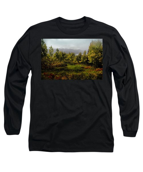 Long Sleeve T-Shirt featuring the photograph Early Fall On Kebler Pass by Ellen Heaverlo