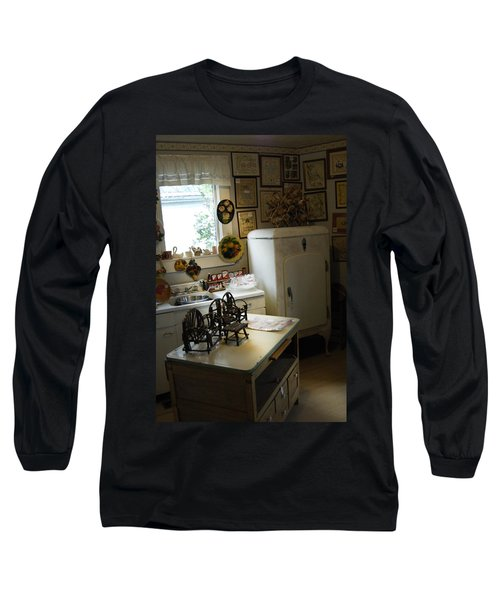 Early Fifty's Kitchen Long Sleeve T-Shirt