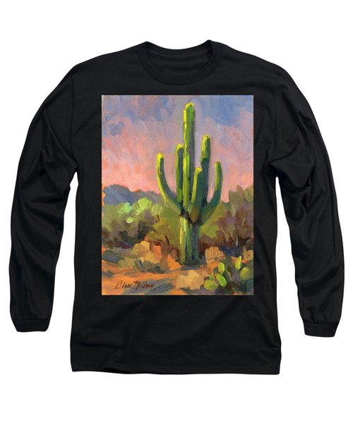 Early Light Long Sleeve T-Shirt by Diane McClary