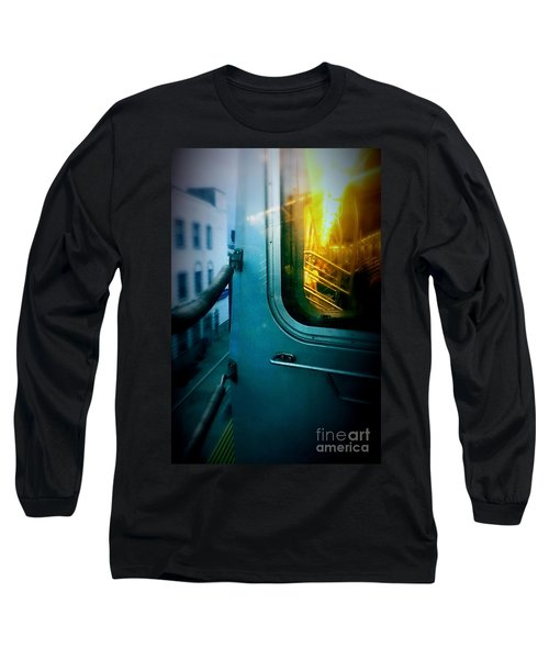Early Morning Commute Long Sleeve T-Shirt by James Aiken