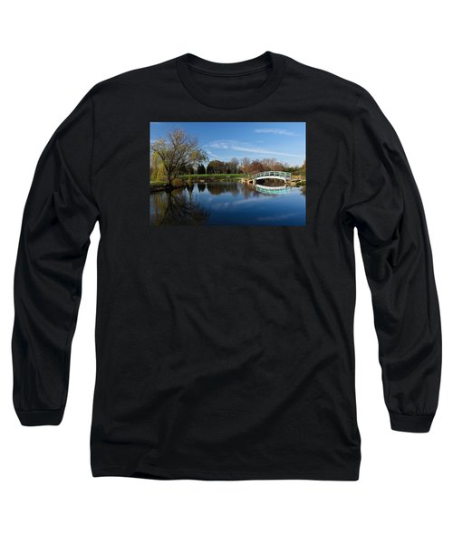 Early Morning Retreat Long Sleeve T-Shirt by Julie Andel
