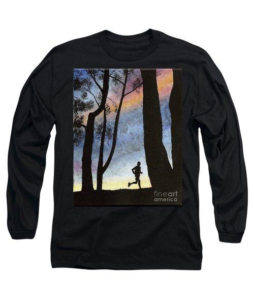 Early Morning Run Long Sleeve T-Shirt