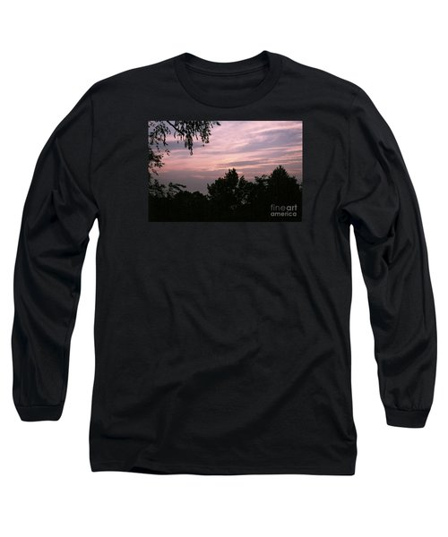 Early Sunrise In Central Illinois Long Sleeve T-Shirt