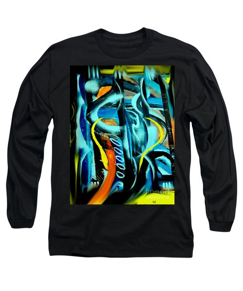 Long Sleeve T-Shirt featuring the painting Imagination -  by Yul Olaivar