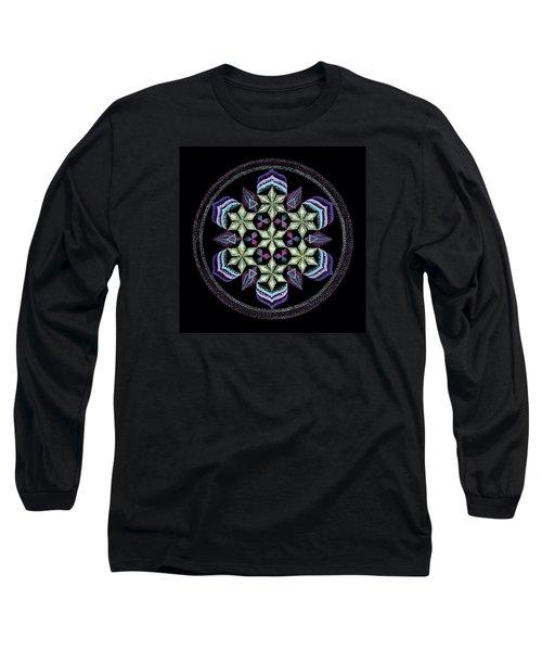 Long Sleeve T-Shirt featuring the painting Earth's Forgiveness by Keiko Katsuta