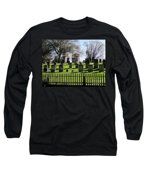 Long Sleeve T-Shirt featuring the photograph East Hampton  by Ed Weidman