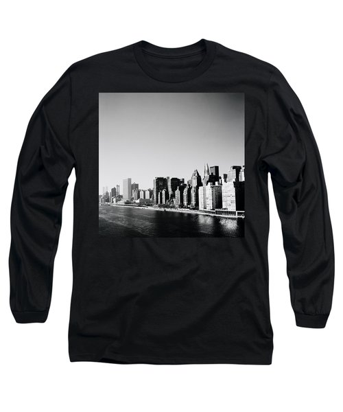 East River New York Long Sleeve T-Shirt