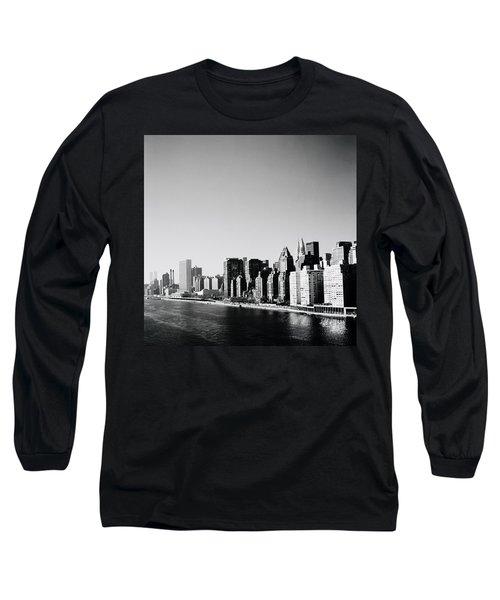 East River New York Long Sleeve T-Shirt