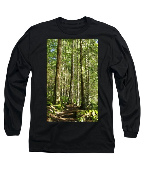 East Sooke Park Trail Long Sleeve T-Shirt