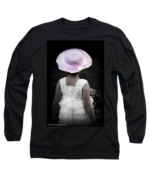Long Sleeve T-Shirt featuring the photograph Easter Angel by Jeanette C Landstrom