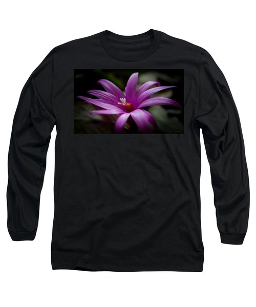 Easter Rose Long Sleeve T-Shirt by Steven Milner