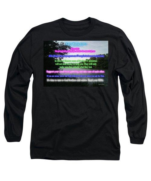 Easy Basic Love Long Sleeve T-Shirt