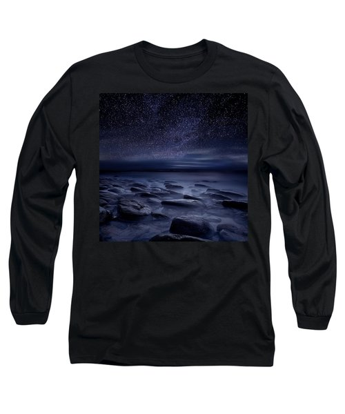 Echoes Of The Unknown Long Sleeve T-Shirt by Jorge Maia