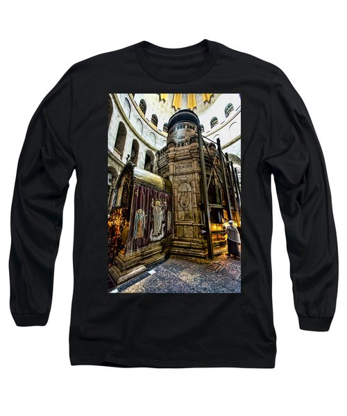 Edicule Of The Tomb Long Sleeve T-Shirt