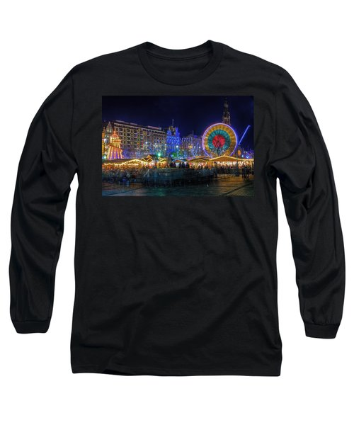 Edinburgh Christmas Market Long Sleeve T-Shirt
