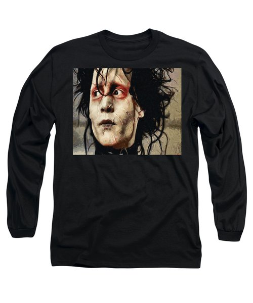Edward Scissorhands  Long Sleeve T-Shirt by Joe Misrasi