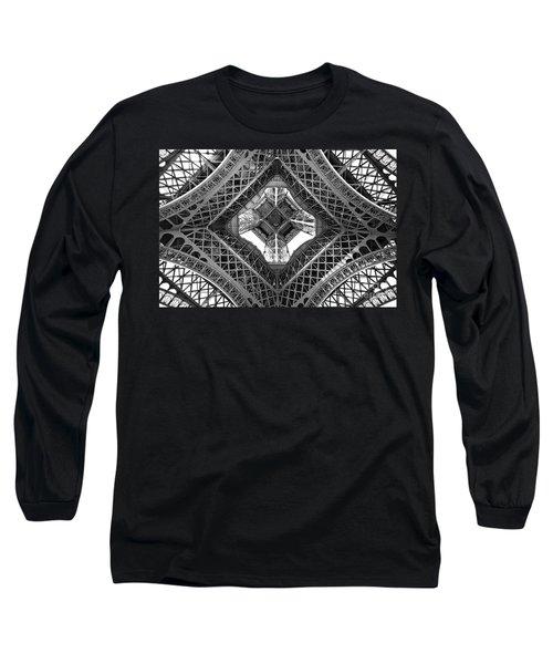 Eiffel Abstract Long Sleeve T-Shirt
