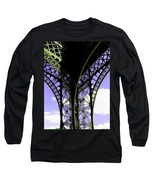 Eiffel Lace Long Sleeve T-Shirt