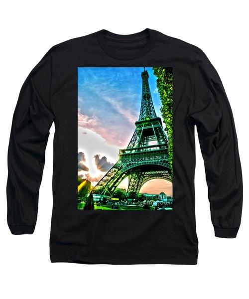 Eiffel Tower 8 Long Sleeve T-Shirt