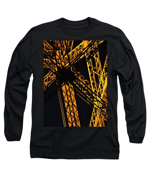 Eiffel Tower Detail Long Sleeve T-Shirt