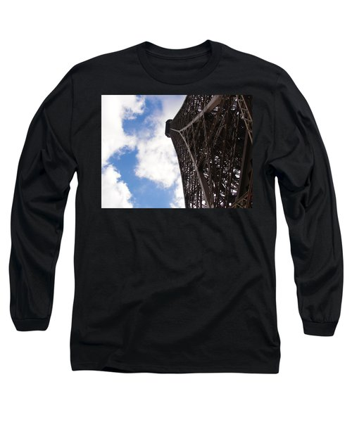 Long Sleeve T-Shirt featuring the photograph Eiffel Tower by Tiffany Erdman