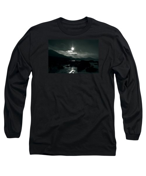 Eight Pointed Star  Long Sleeve T-Shirt by Aidan Moran