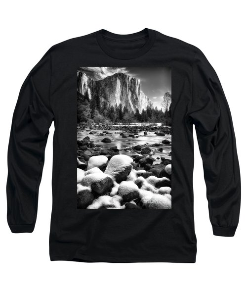 El Cap And Snow Long Sleeve T-Shirt