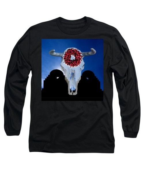 El Dia Los Muertos In Santa Fe Long Sleeve T-Shirt