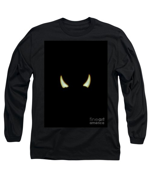 Long Sleeve T-Shirt featuring the photograph El Diablo by Angela J Wright