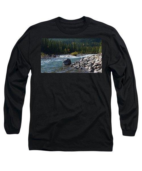 Elbow River Rock Art Long Sleeve T-Shirt