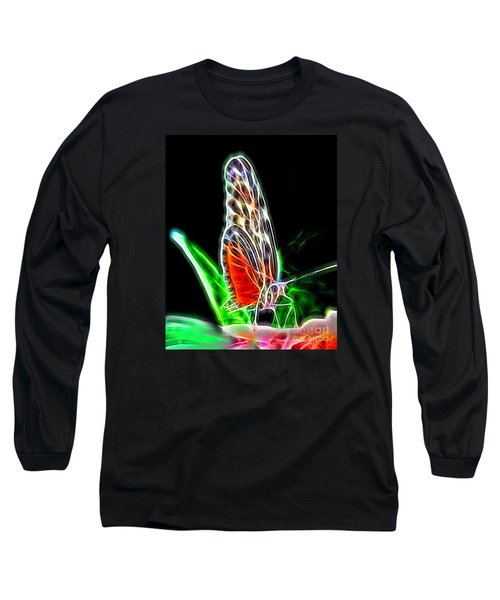 Electric Butterfly Long Sleeve T-Shirt