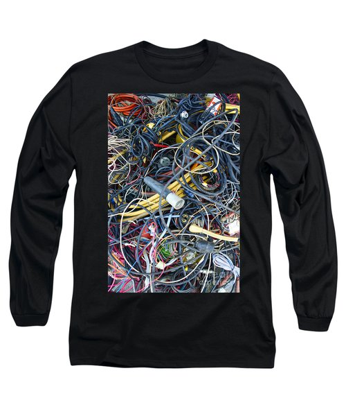 Electrical Cord Picking Long Sleeve T-Shirt