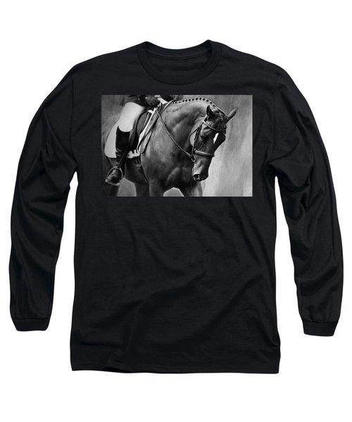 Elegance - Dressage Horse Long Sleeve T-Shirt