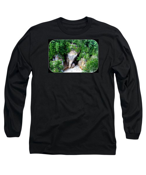 Long Sleeve T-Shirt featuring the photograph Elephant Head Rock by Patti Whitten