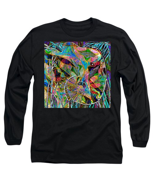 Elephant's Kaleidoscope Long Sleeve T-Shirt
