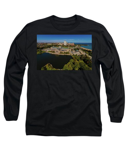 Elevated View Of The Museum Of Science Long Sleeve T-Shirt