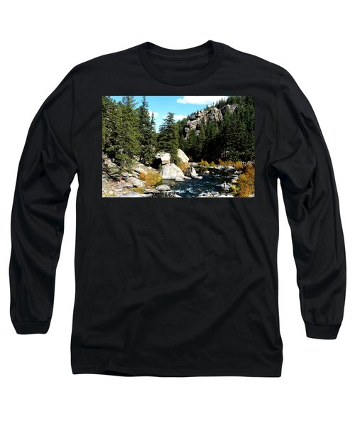 Eleven Mile Canyon Stream Long Sleeve T-Shirt