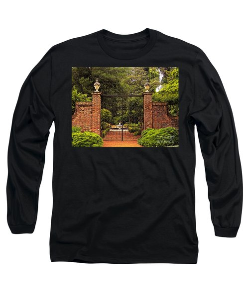 Elizabethan Gardens Long Sleeve T-Shirt by Lydia Holly