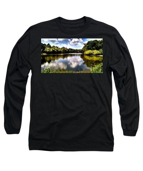 Elk Creek Tennessee Long Sleeve T-Shirt by Chris Tarpening