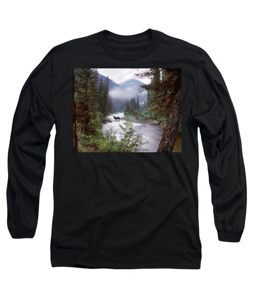 Elk Crossing 2 Long Sleeve T-Shirt