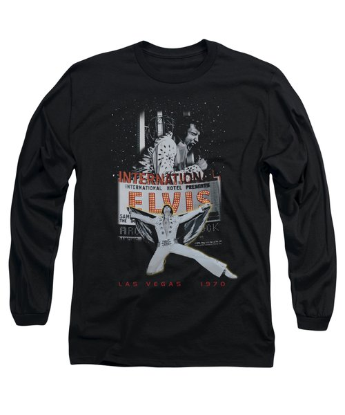 Elvis - Las Vegas Long Sleeve T-Shirt by Brand A