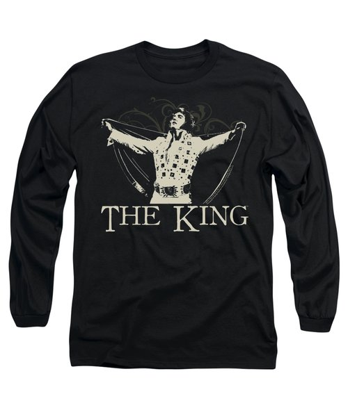 Elvis - Ornate King Long Sleeve T-Shirt by Brand A