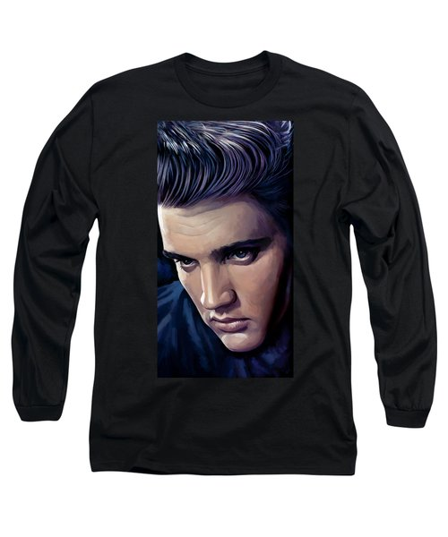 Elvis Presley Artwork 2 Long Sleeve T-Shirt