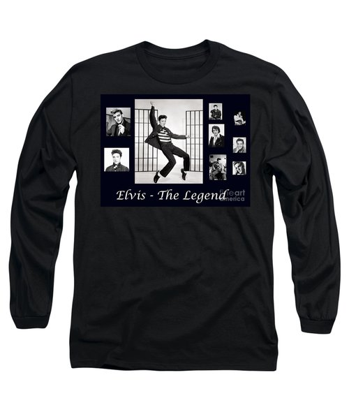 Elvis Presley - The Legend Long Sleeve T-Shirt