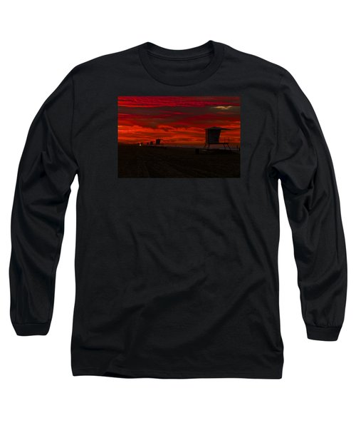 Long Sleeve T-Shirt featuring the photograph Embers Of Dawn by Duncan Selby